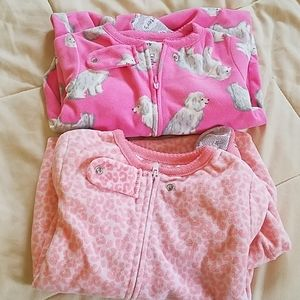 Cute fuzzy footed pjs.